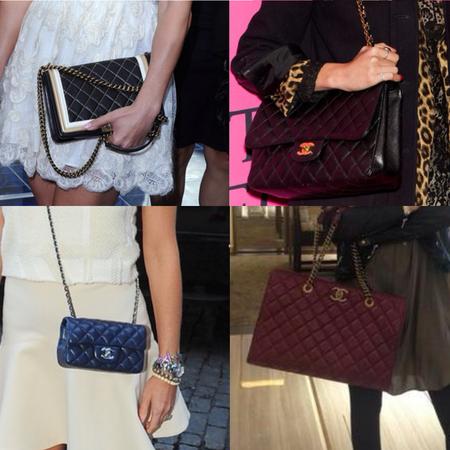 CELEBRITY TREND: Chanel handbags