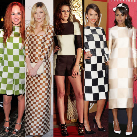 CELEBRITY TREND: Louis Vuitton Spring/Summer 2013 checks