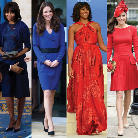 Kate Middleton v Michelle Obama