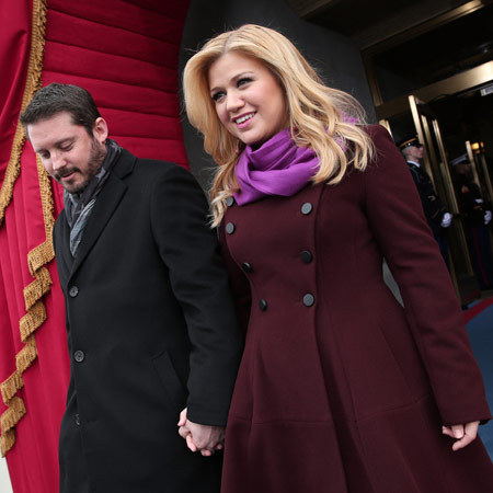Kelly Clarkson at the inauguration ceremony