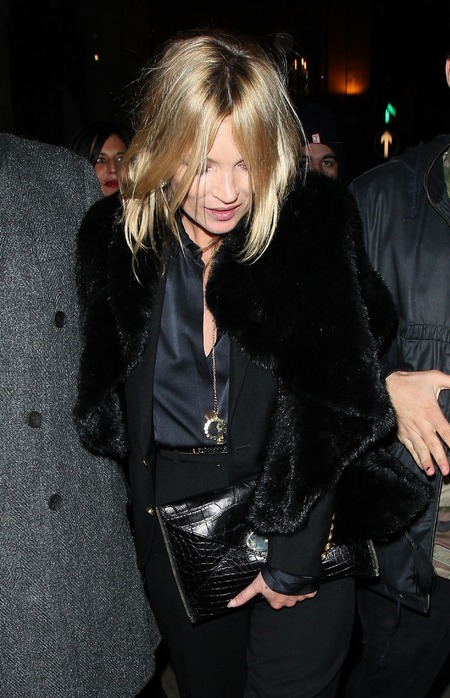 SPOTTED! Kate Moss' Alexandra DeClaris clutch