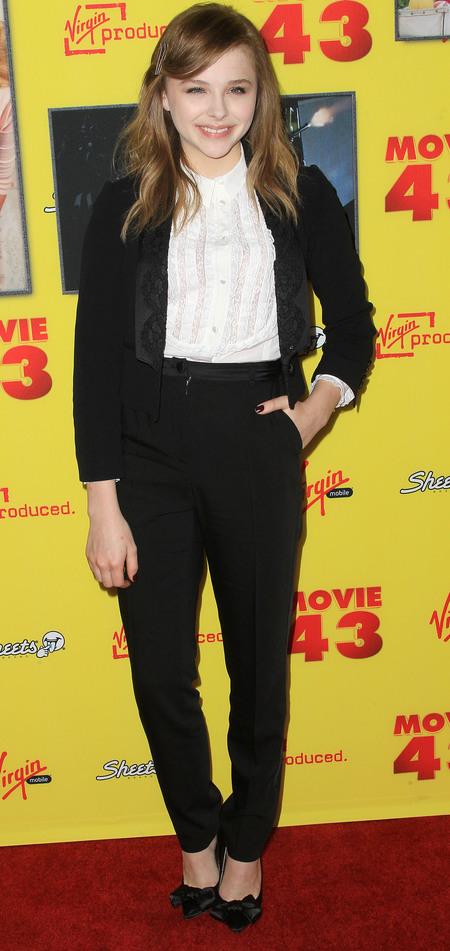 Masculine Fashion Trend Chloe Moretz