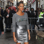 YAY OR NAY: Alesha Dixon's metallic silver skirt at BGT