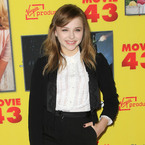 Chloe Moretz suits up in Dolce & Gabbana tux