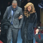Celebrities attend Obama's inauguration
