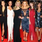 Celeb style at National Television Awards