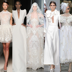 WEDING DRESS IDEAS: Inspiration from the Couture catwalk