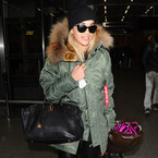 Rita Ora swaps Chanel for chunky layers as she leaves Paris