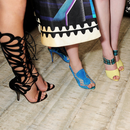 Nicholas Kirkwood shoes at BFC Vogue Fashion Fund winner announcement