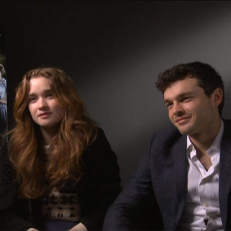 Beautiful Creatures - Alice Englert and Alden Ehrenreich