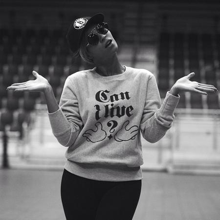 Beyonce - Can i live? sweatshirt