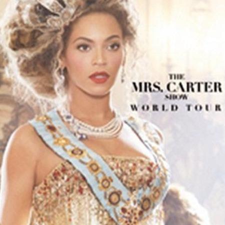 Beyoncé world tour - The Mrs Carter show