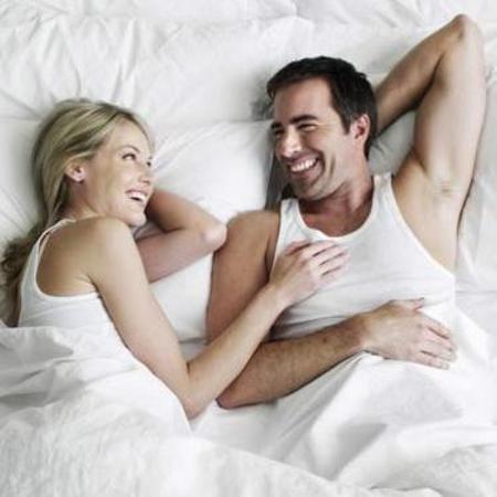 happy sex couple
