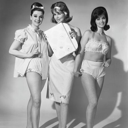 Vintage bras and underwear