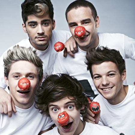 One Direction red nose day