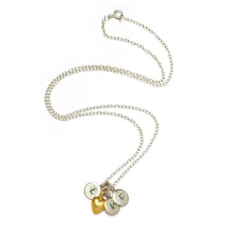 Peculiar Vintage Love Heart Necklace