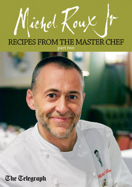 Michel Roux Jr recipe booklet free with The Telegraph