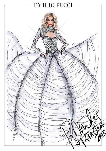 Rita Ora's Emilio Pucci tour wardrobe