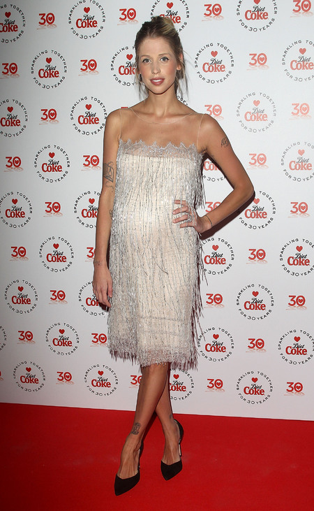 Peaches Geldof at Diet Coke party