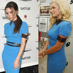 FASHION FIGHT: Victoria Beckham v Katherine Jenkins in VB