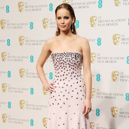 Jennifer Lawrence 2013 BAFTAS