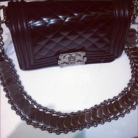 Kim Kardashian Chanel handbag