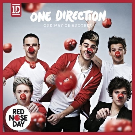 One Direction One Way Or Another Comic Relief single cover