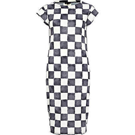 SHOP! River Island's check tube dress