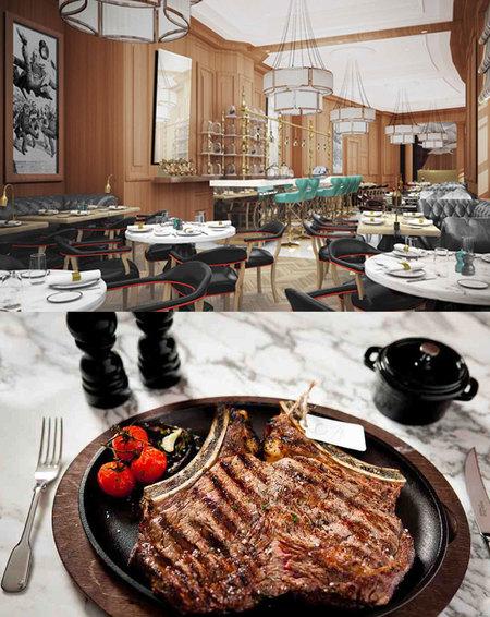 Gillray's English steakhouse