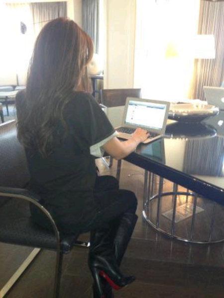 Victoria Beckham twitter style