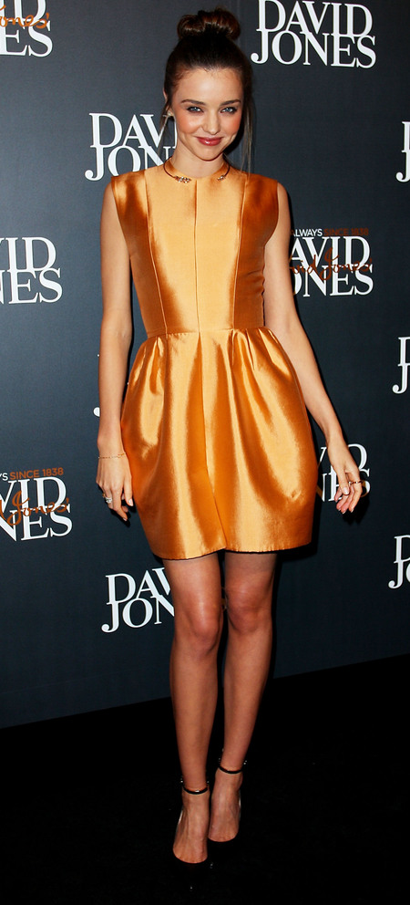 Miranda Kerr in Ellery at David Jones AW13 show