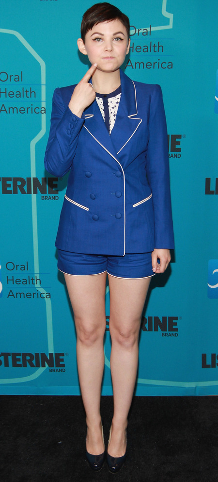 Ginnifer Goodwin at Listerine launch