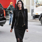 Liberty Ross looks fierce at New York Fashion Week