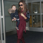 Victoria Beckham and Harper hit NYFW in style
