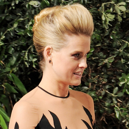 Alice Eve on the BAFTA red carpet