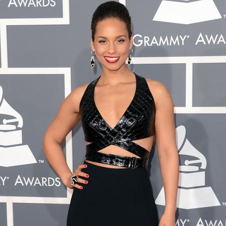 Alicia Keys at Grammys 2013
