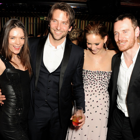 Bafta after party with bradley cooper drinking grey goose