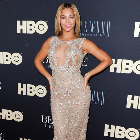 Beyoncé in Elie Saab at Life Is But A Dream premiere