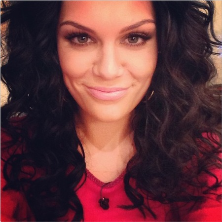Jessie J's voluminous curls
