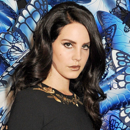 Lana Del Rey at Mulberry AW13