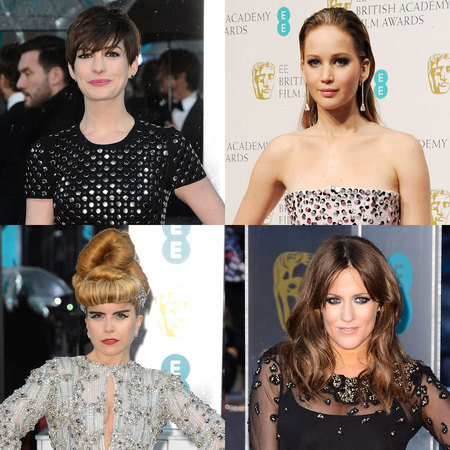 RED CARPET HAIR: BAFTAs 2013