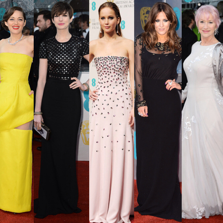 RED CARPET: Celebrity style from the 2013 BAFTAs