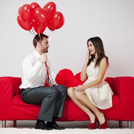 Romantic Couple, flirting, dating