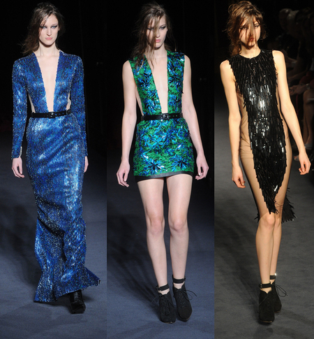 Julien Macdonald AW13 at LFW
