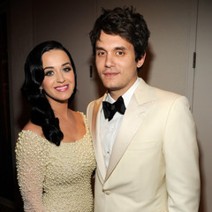 Katy Perry and John Mayer at pre-Grammy gala