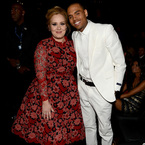 Chris Brown thanks Adele for 