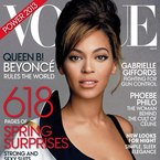 It's all about the eyes for Beyonce's Vogue cover