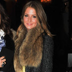 LFW: Millie Mackintosh layers up for Sass & Bide AW13