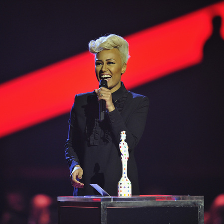 Emeli Sandé at the BRIT Awards 2013
