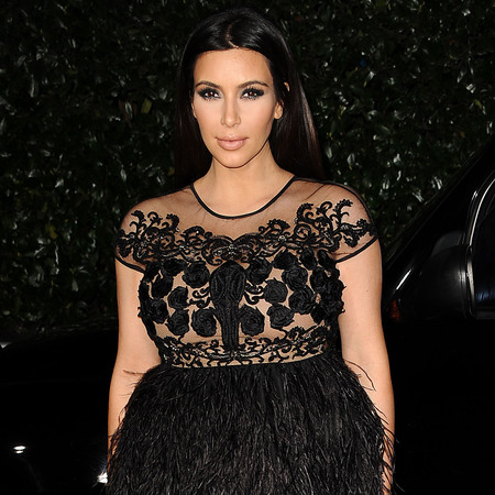 Kim Kardashian at Topshop event